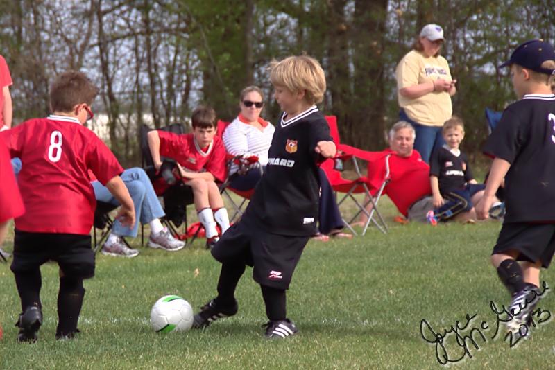 Adrian kicking
