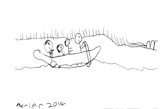 Canoe trip by Adrian 30 May 2014