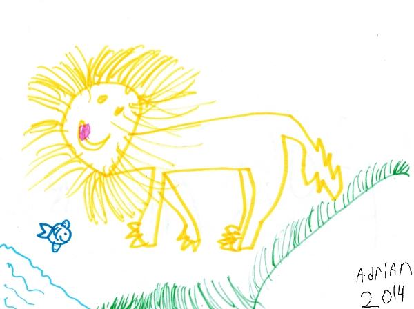 Adrian's lion