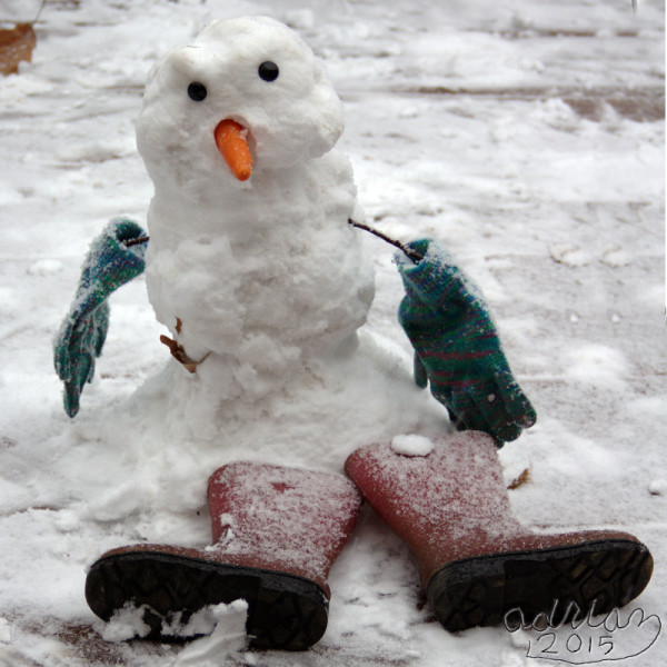 Adrian's snowman